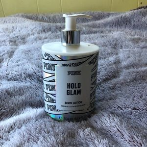 Holo Glam pink lotion